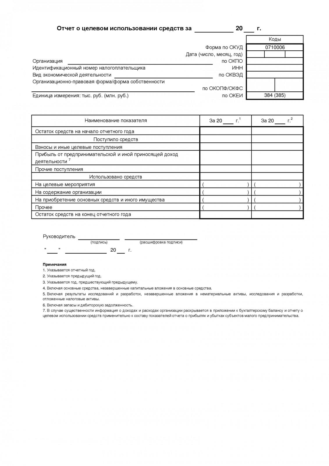 Инструкция по заполнению формы 6 бухгалтерской отчетности бухгалтер на материалы на дому