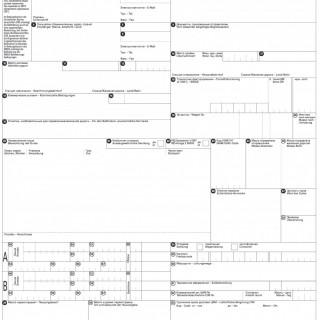 Железнодорожная накладная ЦИМ/СМГС (CIM/SMGS)