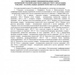 Постановление Росстата от 09.08.1999 N 66